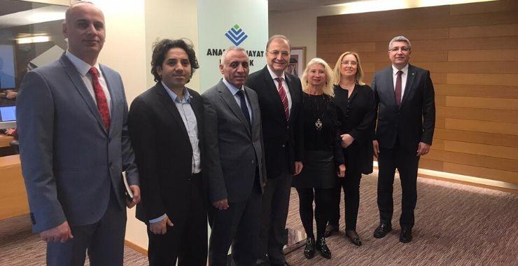 SAB'dan Anadolu Hayat ve Emeklilik ziyareti