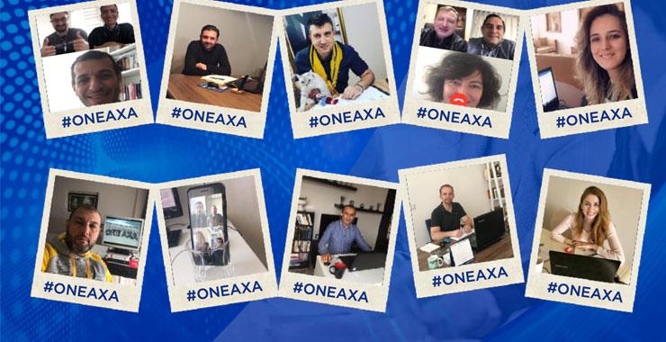 Axa Sigorta sektörün ilk online acente toplantısını yaptı