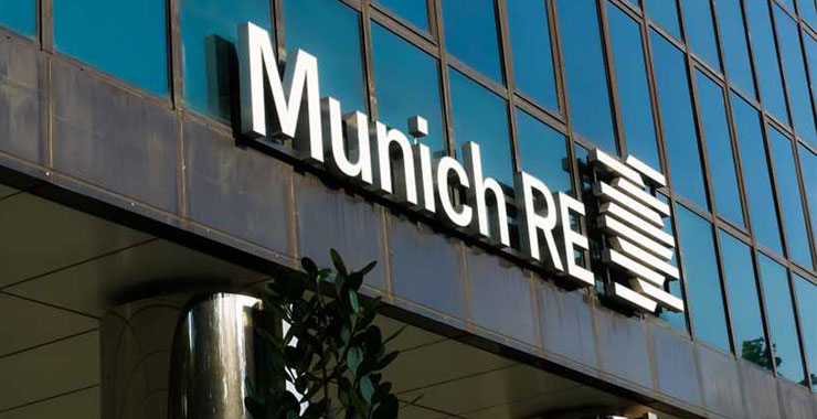 Munich Re, 2020'de meydana gelen olaylar için sigortalı hasar tahminlerini güncelledi