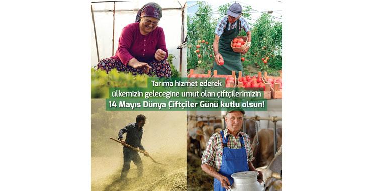 """TARSİM: """"Çiftçilerimizin Günü kutlu olsun"""""""