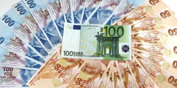 2019 yıl sonunda 100 Euro 47 Türk Lirasına denk geldi