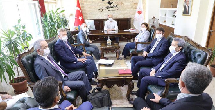 TARSİM Antalya'da resmi ziyaretler gerçekleştirdi