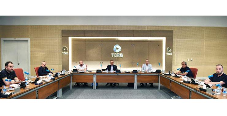 TOBB SAİK yönetimi Haziran aylık olağan toplantısını Ankara'da gerçekleştirdi