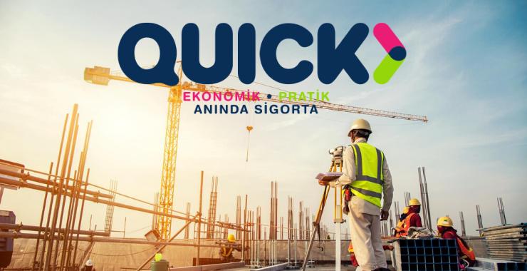 Quick Sigorta'dan konut alanlar ve yatırımcılar için Bina Tamamlama Sigortası