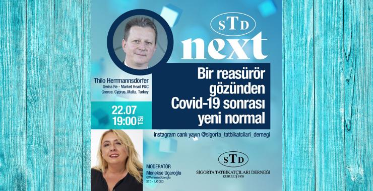 STD'nin sigorta sohbetlerinde reasürör gözünden yeni normal konuşulacak