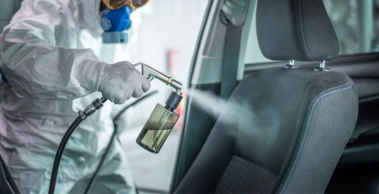 RS Servis uyardı: El dezenfektanları araçlara zarar veriyor