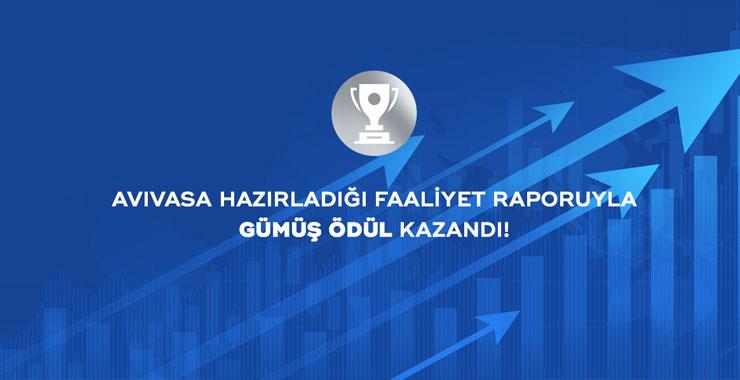 AvivaSA'nın 2019 faaliyet raporuna LACP'den ödül