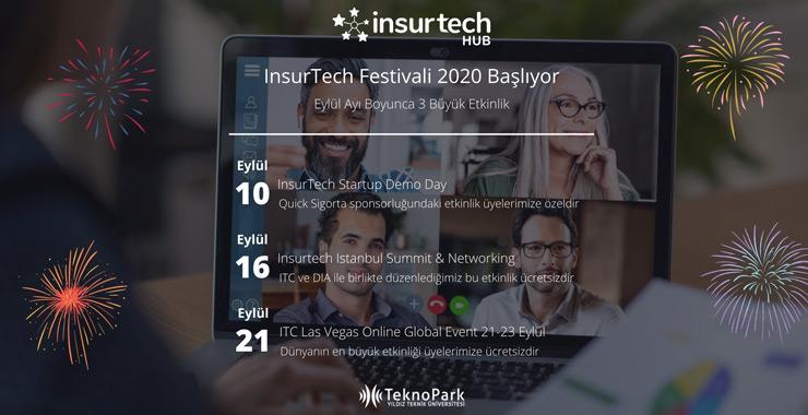 Insurtech Festivali Eylül'de başlıyor!