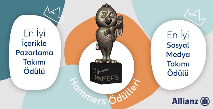 Allianz Türkiye'ye The Hammers'tan iki ödül