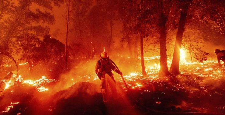 ABD orman yangınlarının tahmini sigortalı hasarı 8 milyar dolara kadar yükseldi