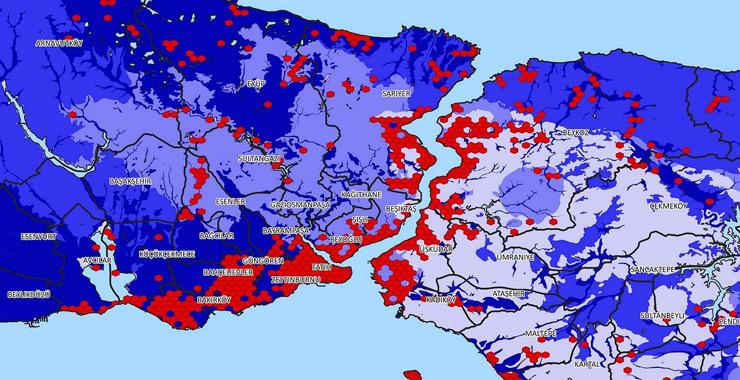 İstanbul deprem haritası yayınlandı: Tarihi yarım adanın durumu kritik