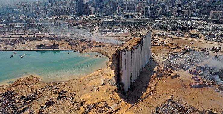 Beyrut patlamasının ekonomik hasar tahmini 7,5 milyar dolara yükseldi