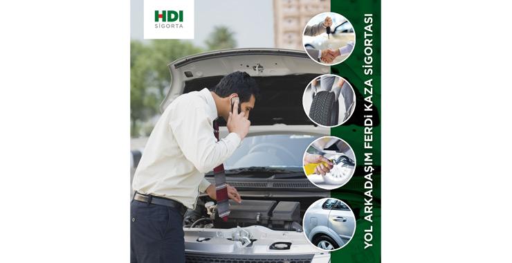 HDI Sigorta'dan yeni ürün: Yol Arkadaşım Ferdi Kaza Sigortası