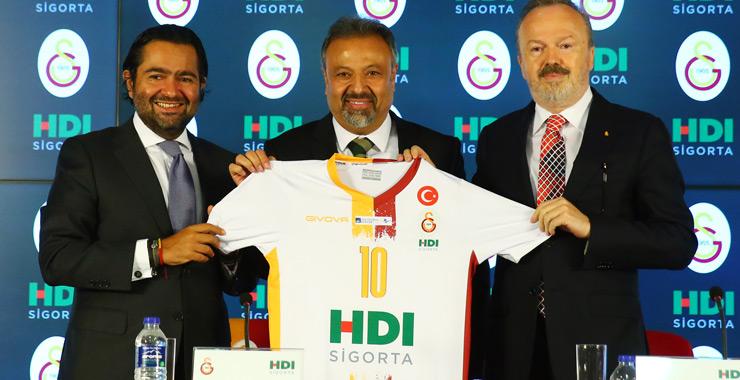 HDI Sigorta, Galatasaray Kadın ve Erkek Voleybol Takımları ile sponsorluk anlaşmasını yeniledi