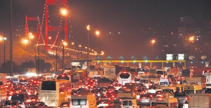 Ekim sonu itibarıyla trafikteki toplam taşıt sayısı 24 milyona dayandı