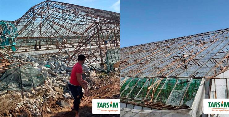 TARSİM, Antalya'da meydana gelen dolu hasarına 22 milyon TL ödeme yaptı