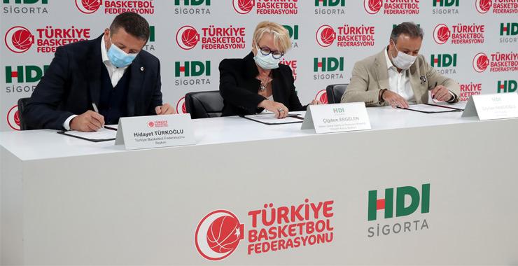 HDI Sigorta ve TBF sponsorluk anlaşmalarını 6. kez yeniledi