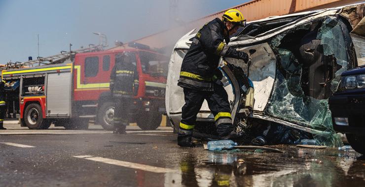 Pandeminin etkisiyle Ekim ayında trafik kazaları %89 oranında düştü