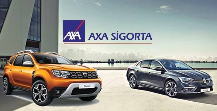Axa Sigorta'dan Renault ve Dacia araçlarına özel Anlaşmalı Marka Kasko Sigortası