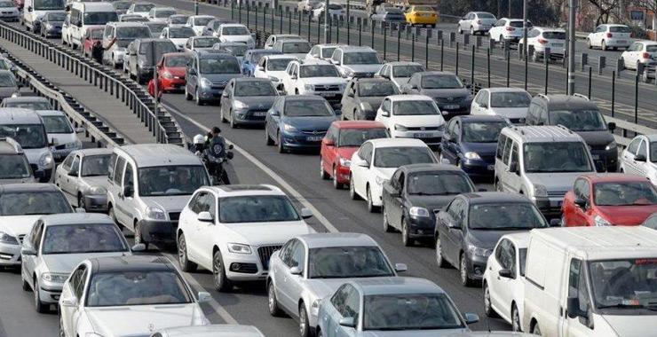 Trafikteki toplam taşıt sayısı 24 milyonu aştı