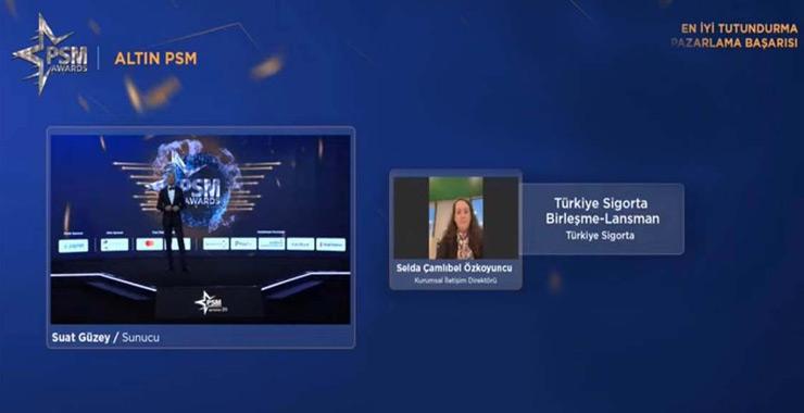 Türkiye Sigorta lansman kampanyası ile En İyi Tutundurma Ödülü aldı