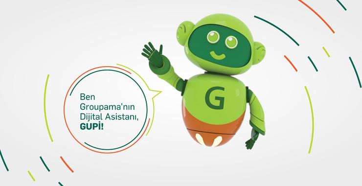 Groupama'dan yeni hizmet: Dijital Asistan GUPİ