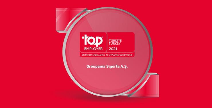 """Groupama Türkiye """"En İyi İşveren Markası"""" seçildi"""
