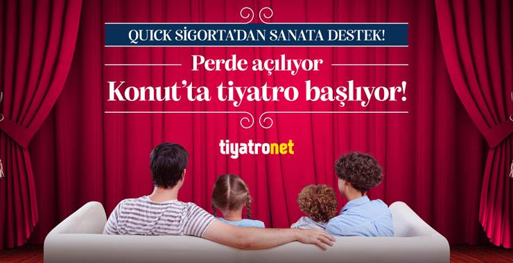 Quick Sigorta'dan Dünya Tiyatrolar Günü'ne özel reklam filmi
