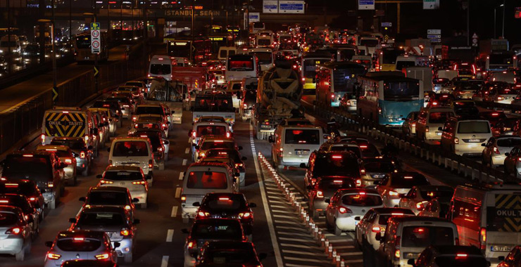 Trafiğe kayıtlı toplam taşıt sayısı 24 milyon 256 bin oldu