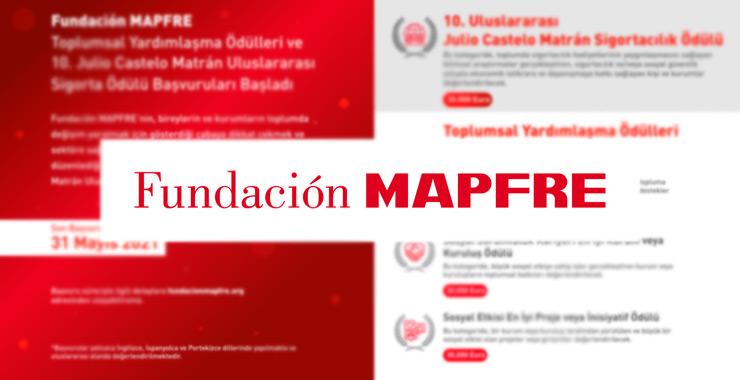 Fundación MAPFRE Toplumsal Yardımlaşma Ödülleri başvuruları başladı