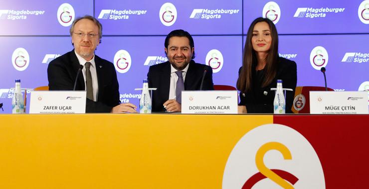 Magdeburger Sigorta, Galatasaray Kadın Basketbol Takımı forma sırt sponsoru oldu