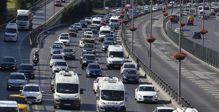 Trafiğe kayıtlı toplam taşıt sayısı 24 milyonu geçti