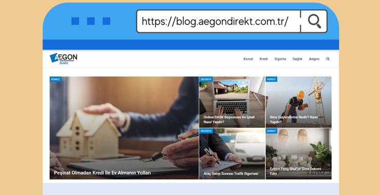 Aegon, sigorta ve kredi süreçleri hakkında merak edilenleri Aegondirekt Blog'da yanıtlıyor