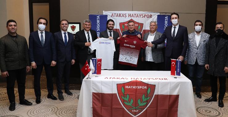 Koru Sigorta'dan Hatayspor'a ziyaret