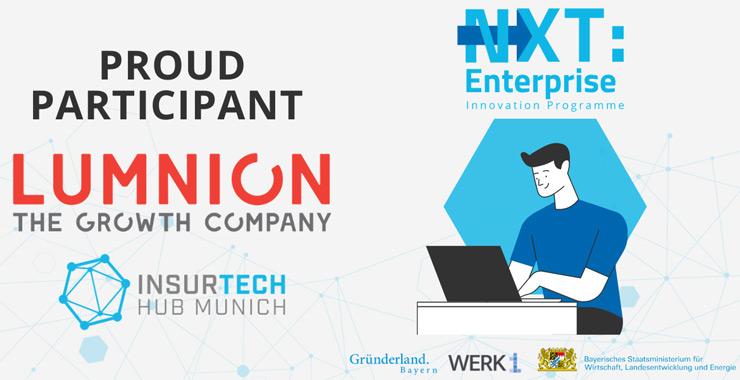 Lumnion, InsureTech Hub Munich'in NXT programına dahil olan ilk Türk şirket oldu