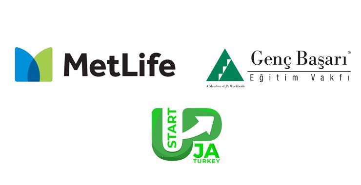 MetLife ile Genç Başarı Eğitim Vakfı'nın düzenlediği 'JA StartUp Türkiye' projesinin kazananları belli oldu
