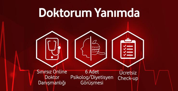 """Vodafone Sigorta'dan dijital sağlık danışmanlığı ürünü: """"Doktorum Yanımda"""""""