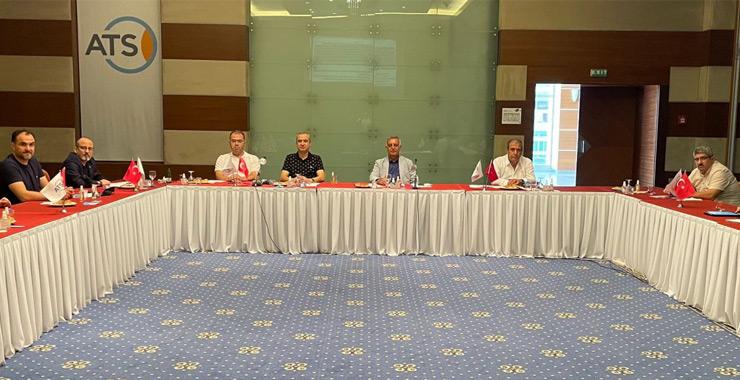 TOBB SAİK yönetimi Haziran aylık olağan toplantısını Antalya'da gerçekleştirdi