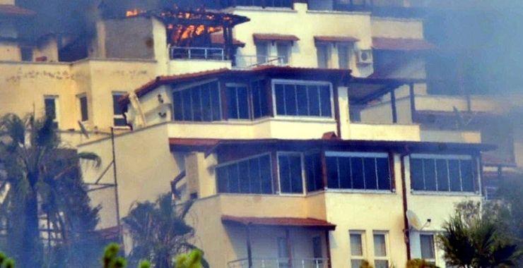 Ege ve Akdeniz'deki yangınlar yazlıklara sigorta talebini artırdı
