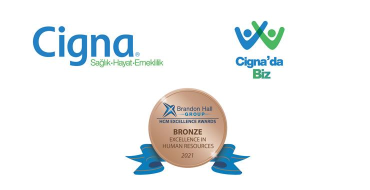 """Cigna, """"Brandon Hall Group Mükemmellik Ödülü""""nü kazandı"""