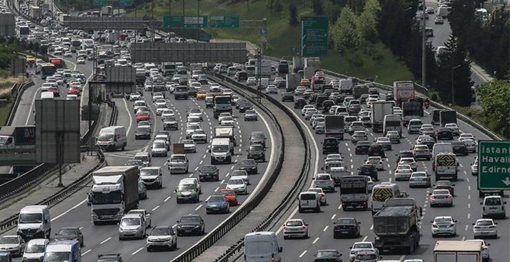 Trafiğe kayıtlı toplam taşıt sayısı 25 milyona yaklaşıyor