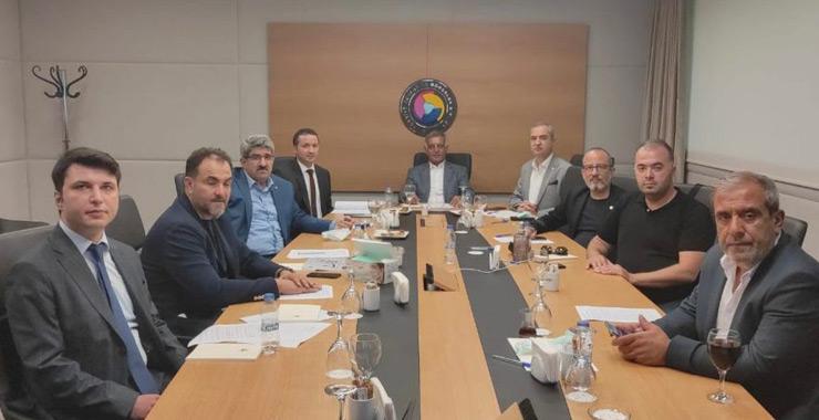 TOBB SAİK yönetimi Eylül aylık olağan toplantısını gerçekleştirdi