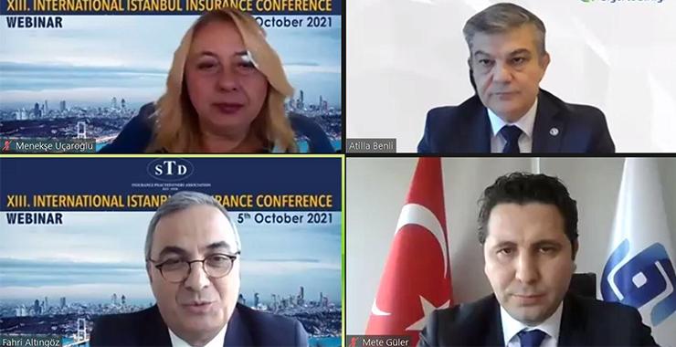 13. Uluslararası İstanbul Sigortacılık Konferansı'nda ortak mesaj: İklim krizi en önemli gündem maddesi oldu
