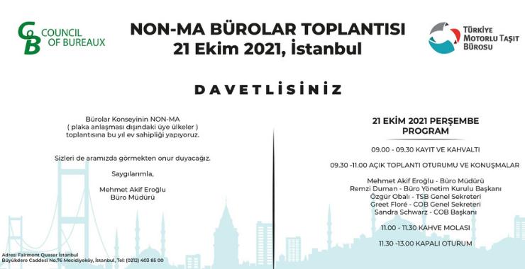 Motorlu Taşıt Büroları İstanbul'da buluşuyor