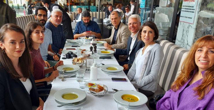 SFS Danışmanlık Genel Müdürü Murat Atıcı sektör basını ile buluştu
